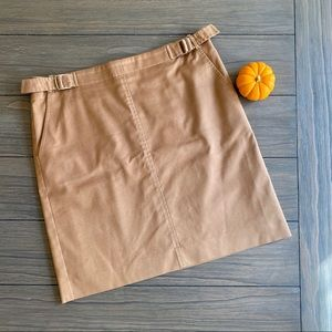 BCBG Tan Mini Skirt